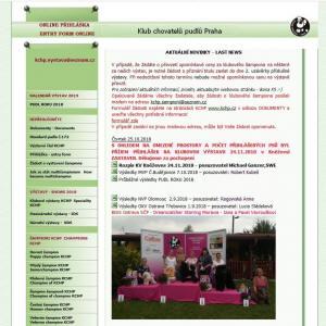 Výstavní stránky KCHP